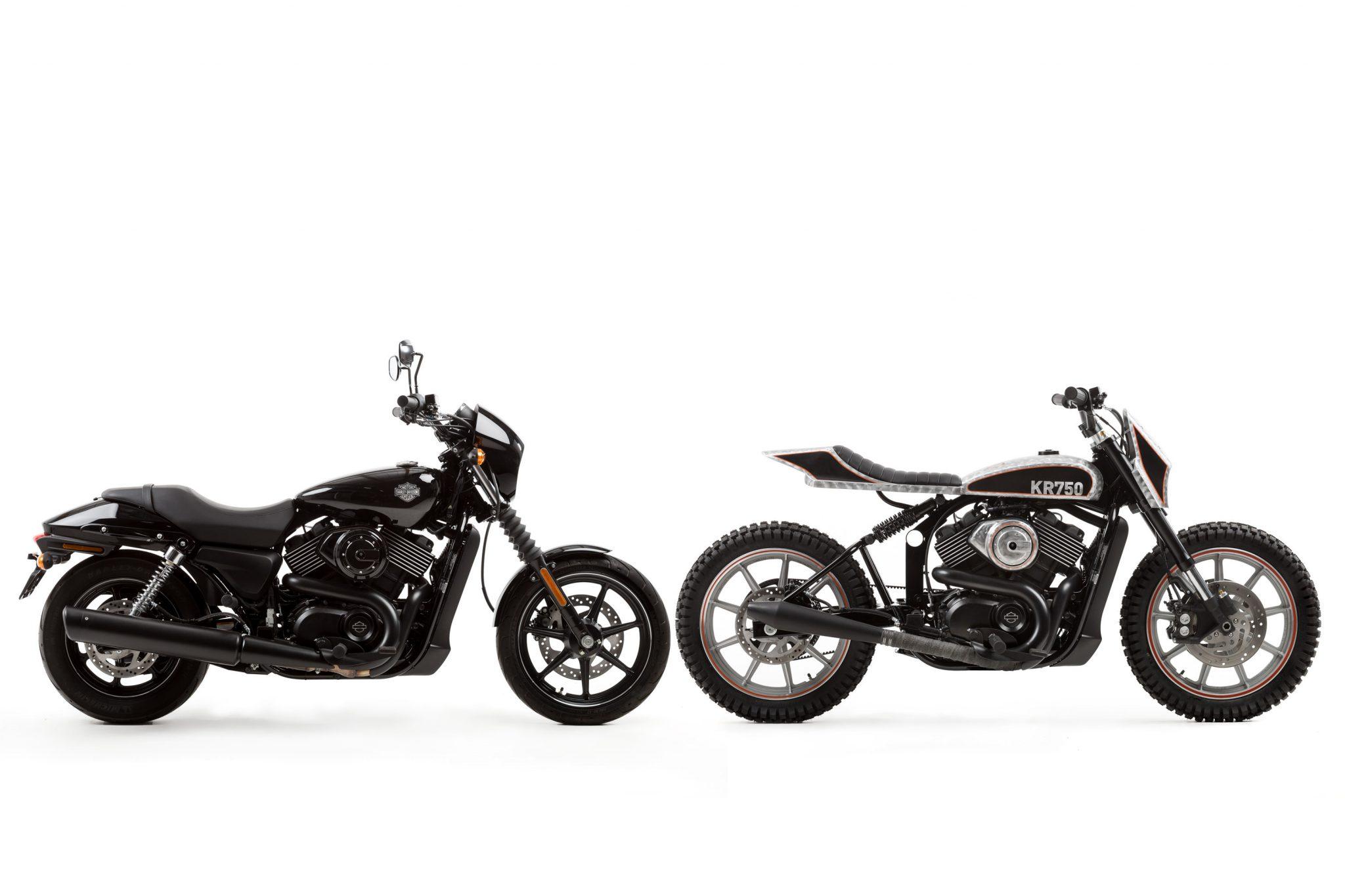 Harley Davidson: For Motorcycle Fans: Harley-Davidson Street 750 Tracker
