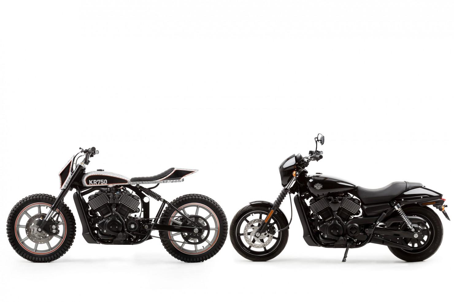 Harley Davidson Street Custom 4 1480x986 Harley Davidson Street 750 Tracker