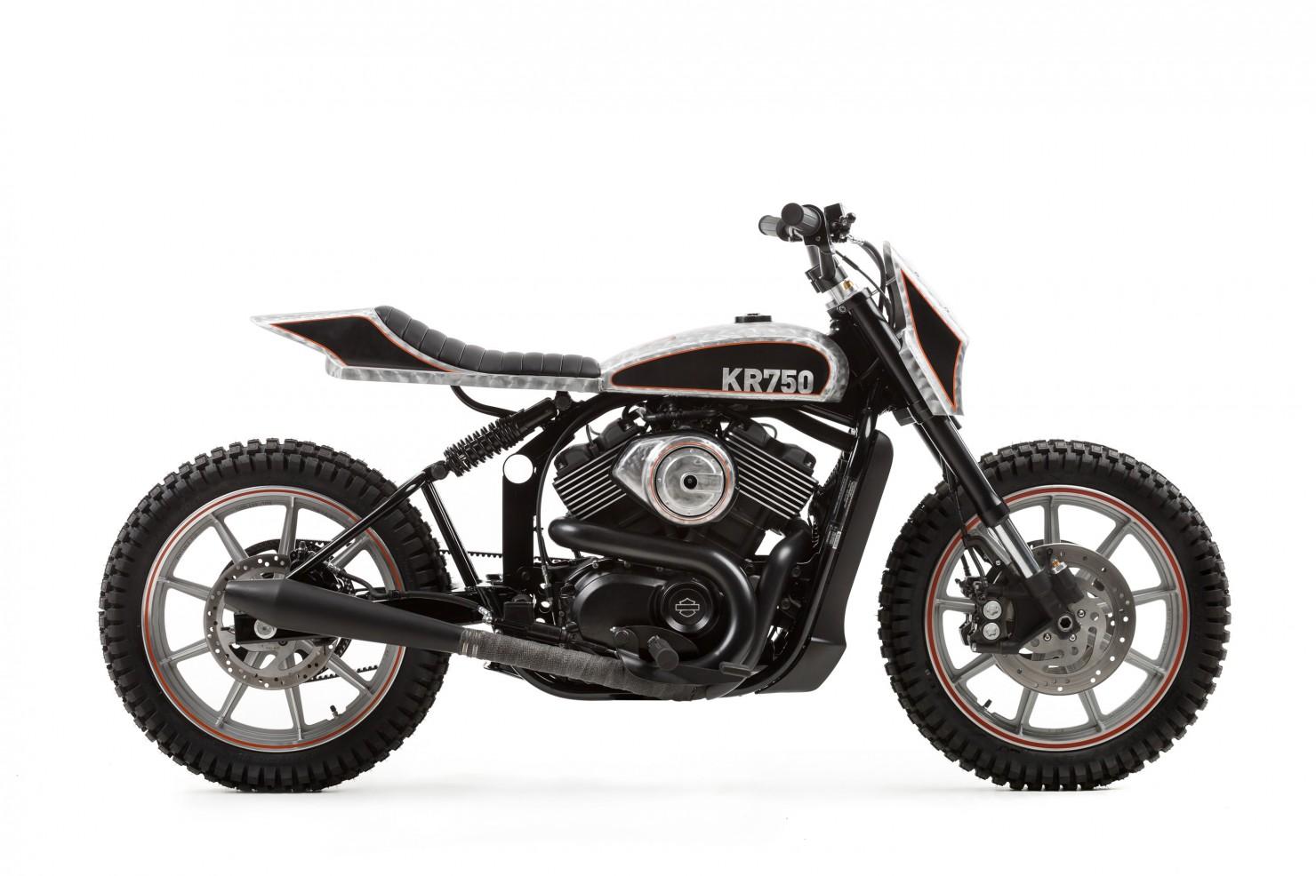 Harley Davidson Street Custom 8 1480x986 Harley Davidson Street 750 Tracker