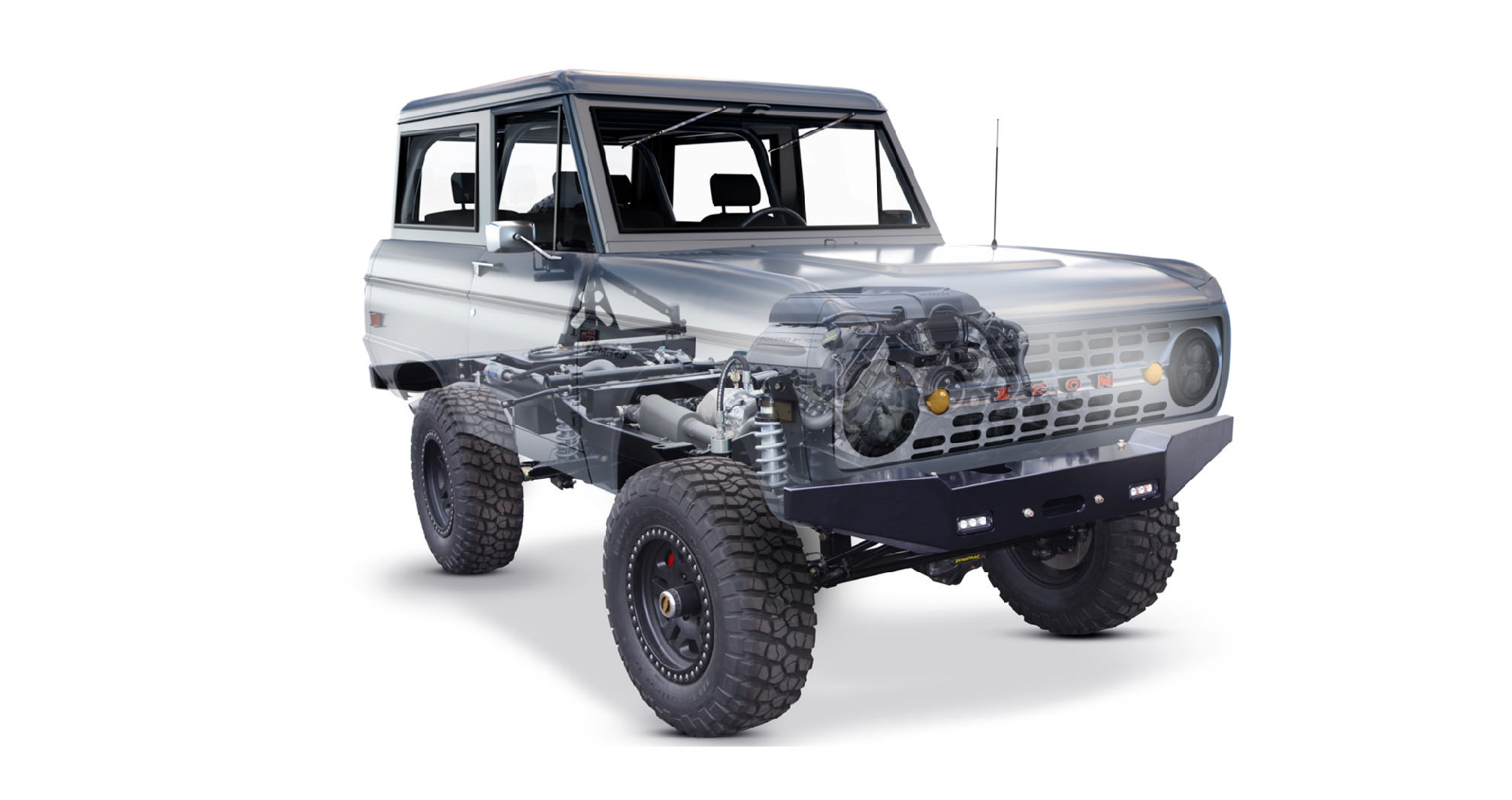 Icon Br Series Ford Bronco