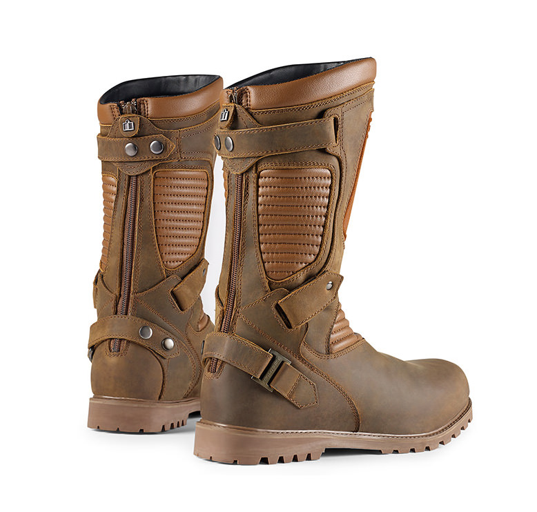 Icon 1000 Prep Motorcycle Boot. 1