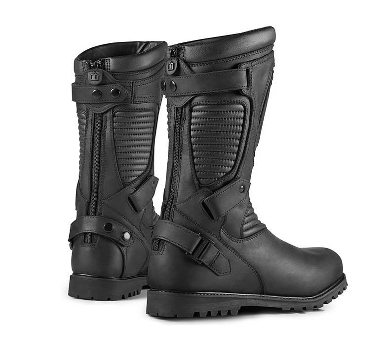 Icon 1000 Prep Motorcycle Boot. 2
