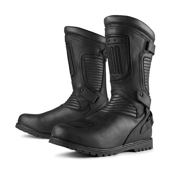 Icon 1000 Prep Motorcycle Boot. 3
