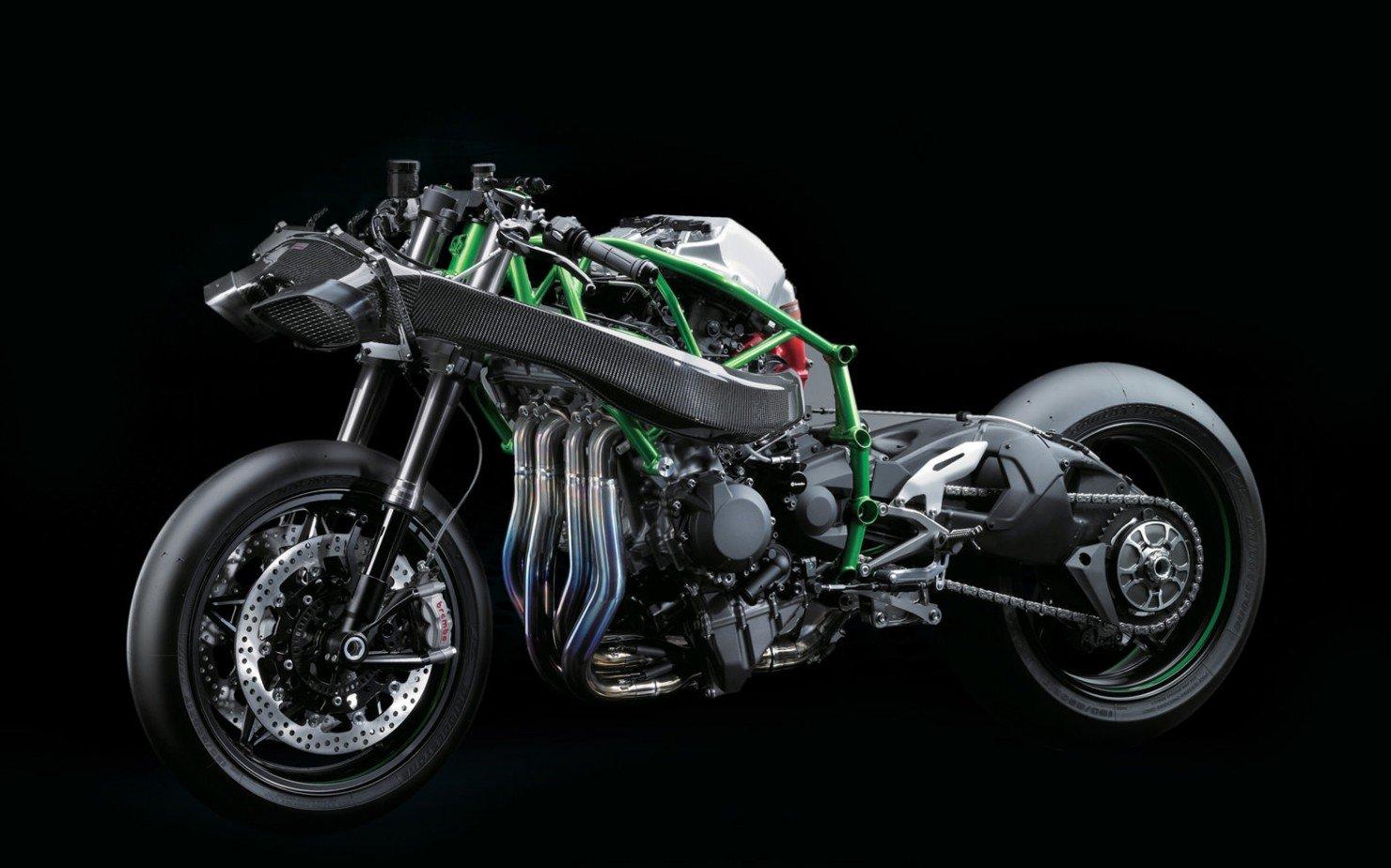 Kawasaki H2 Frame