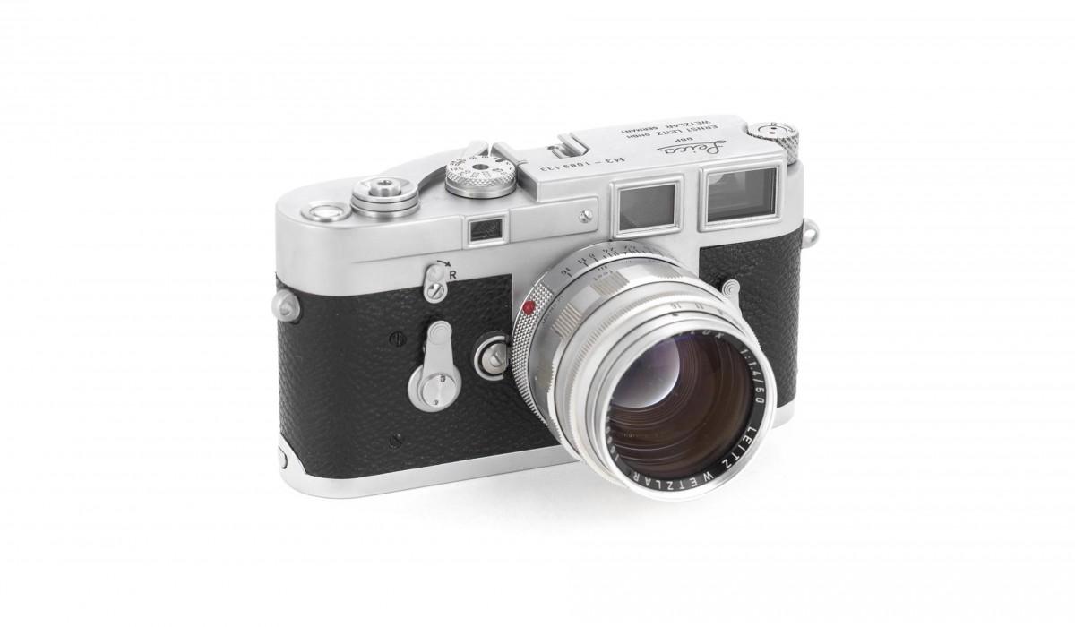 Leica M3 1200x700 - 1963 Leica M3