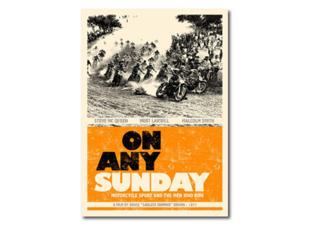 On Any Sunday Film Poster 450x330 - On Any Sunday Poster by Rustle of Silk