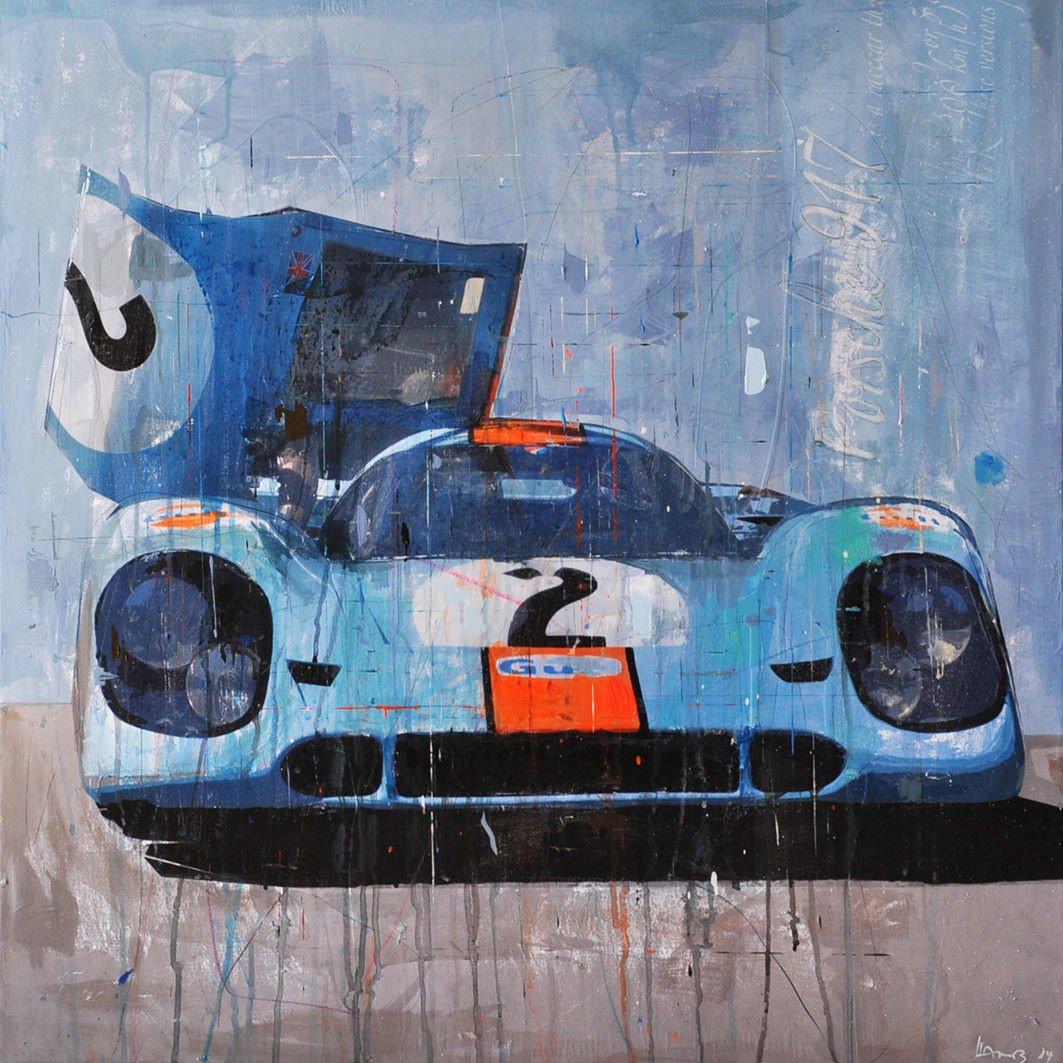 Porsche Car Art