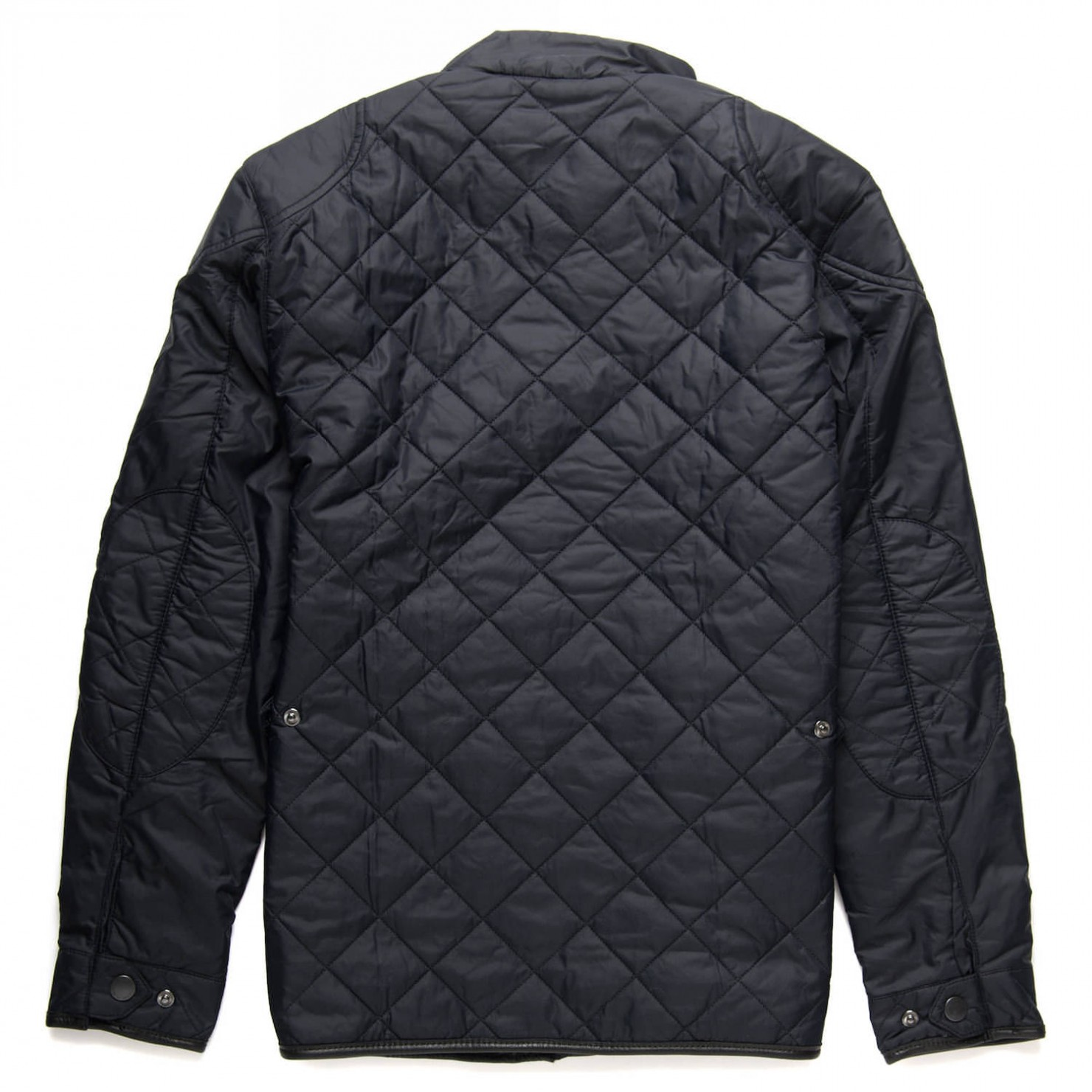 Quilted Motorcycle Jacket Back