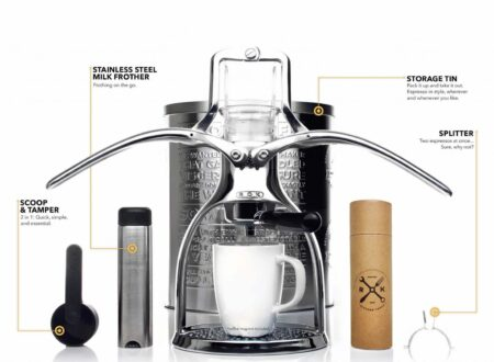 ROK Espresso Maker 450x330 - The ROK Manual Espresso Maker