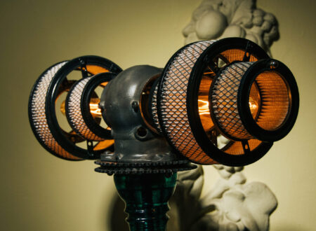 Steampunk Lamp 450x330
