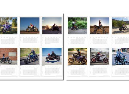 motolady calendar1 450x330 - 2015 Ladies Who Ride Calendar by MotoLady