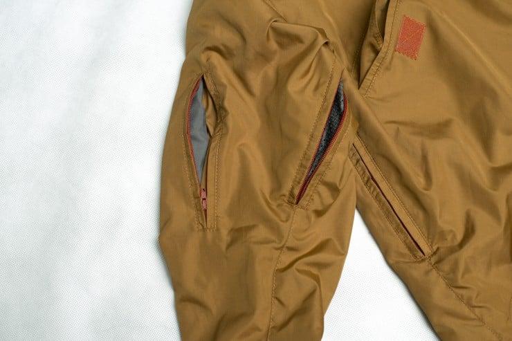 Armor Ski Snowboard Motorcycle Jacket With Kevlar 2