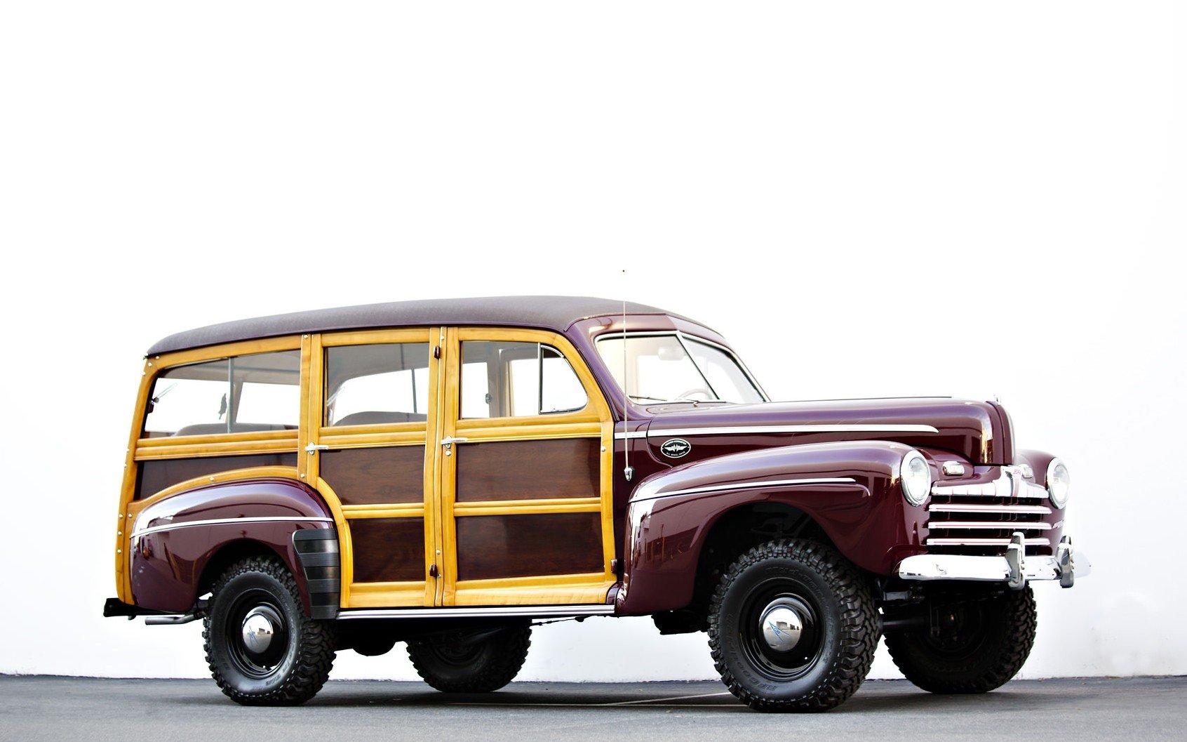 Ford Marmon-Herrington Woodie 4x4 - Silodrome