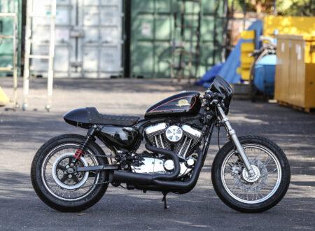 Harley Davidson Sporter Cafe Racer 450x330 - Harley-Davidson Sportster Cafe Racer