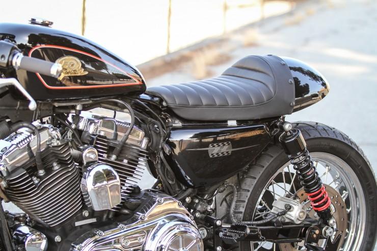 Harley-Davidson Sporter Cafe Racer  8