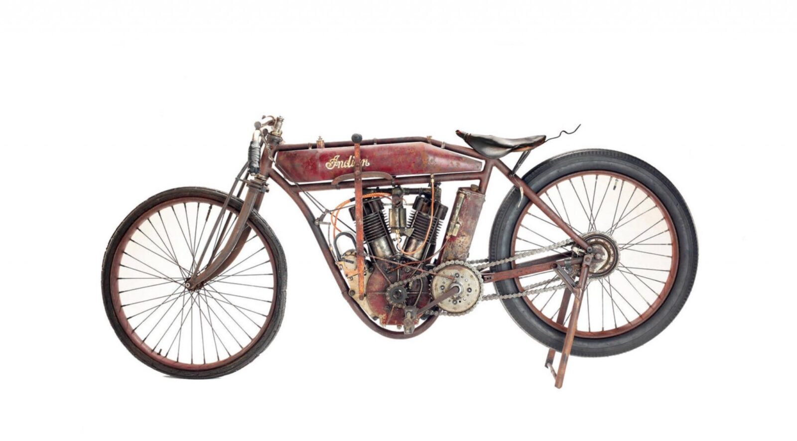 Indian Board Track Motorcycle 1 1600x886 - 1912 Indian Board Track Racer