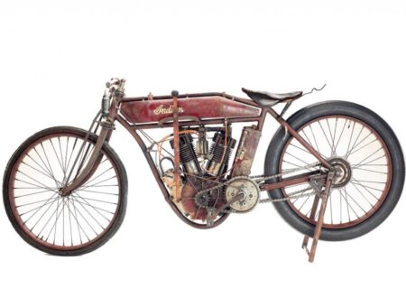 Indian Board Track Motorcycle 1 450x330 - 1912 Indian Board Track Racer