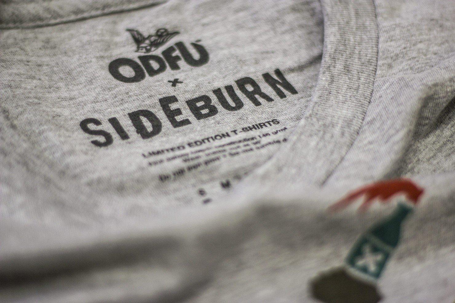 ODFU x Sideburn T-Shirt 1