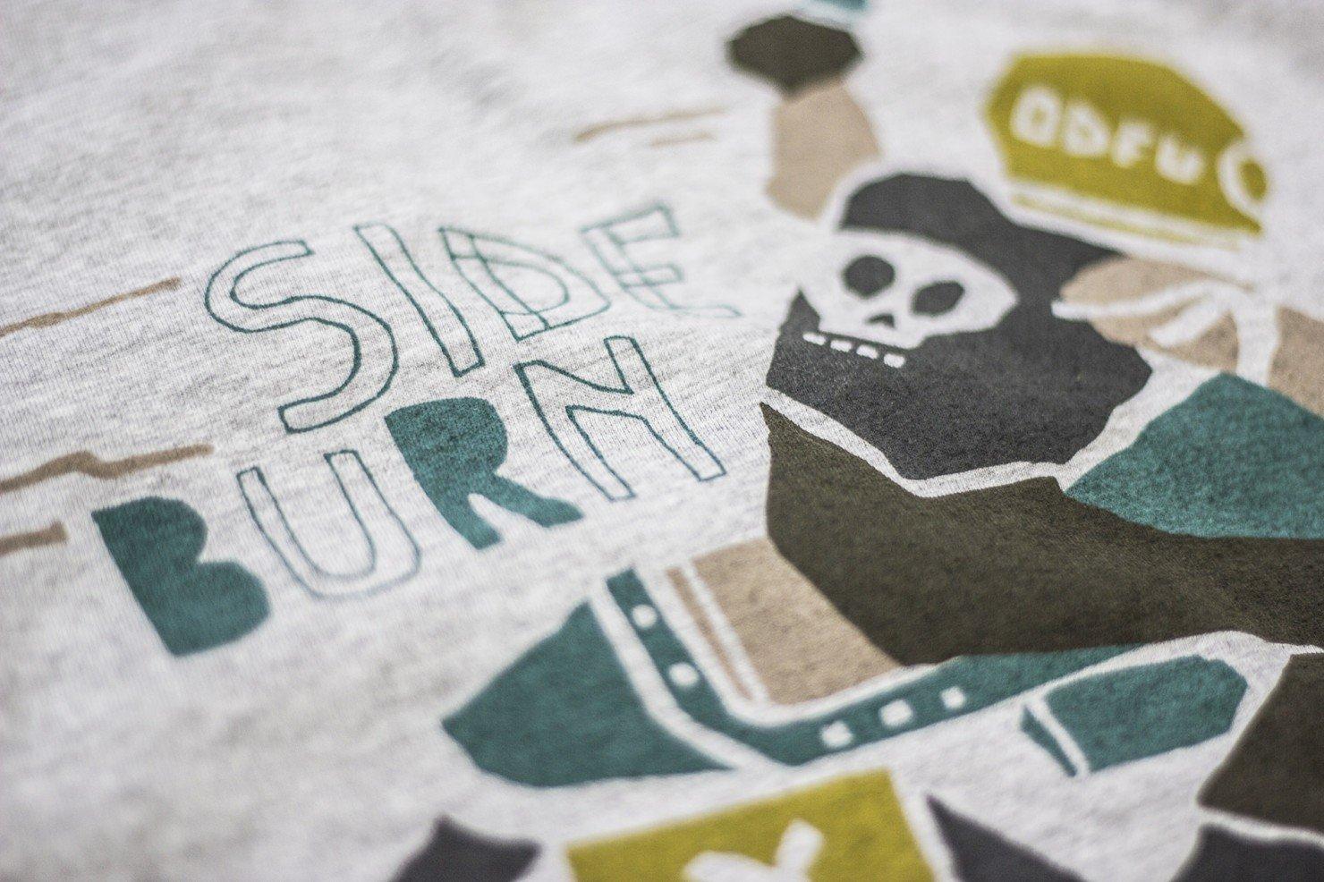 ODFU x Sideburn T-Shirt 2