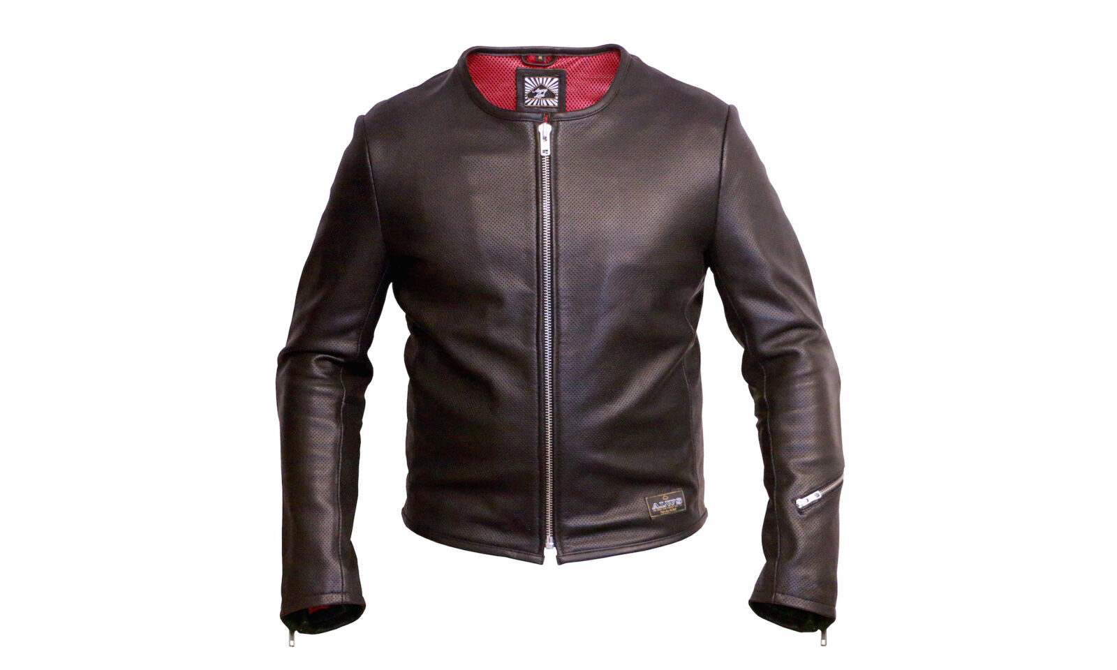 Perforated Leather Motorcycle Jacket 1600x960 - 1/4 Mile Leather Jacket by Angry Lane