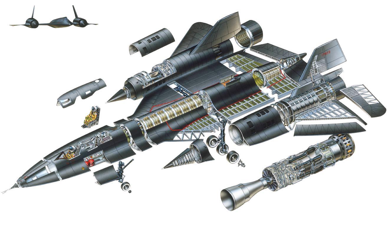 SR-71-Blackbird-Cutaway