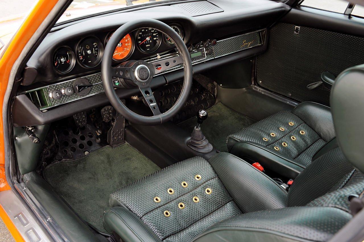 Singer Porsche 911 Interior 2