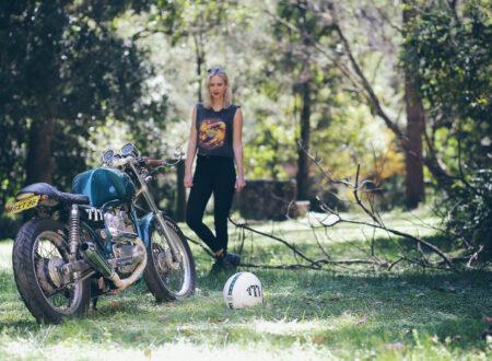 Yamaha SRV250 Motorcycle 450x330 - Maria's Yamaha SRV250