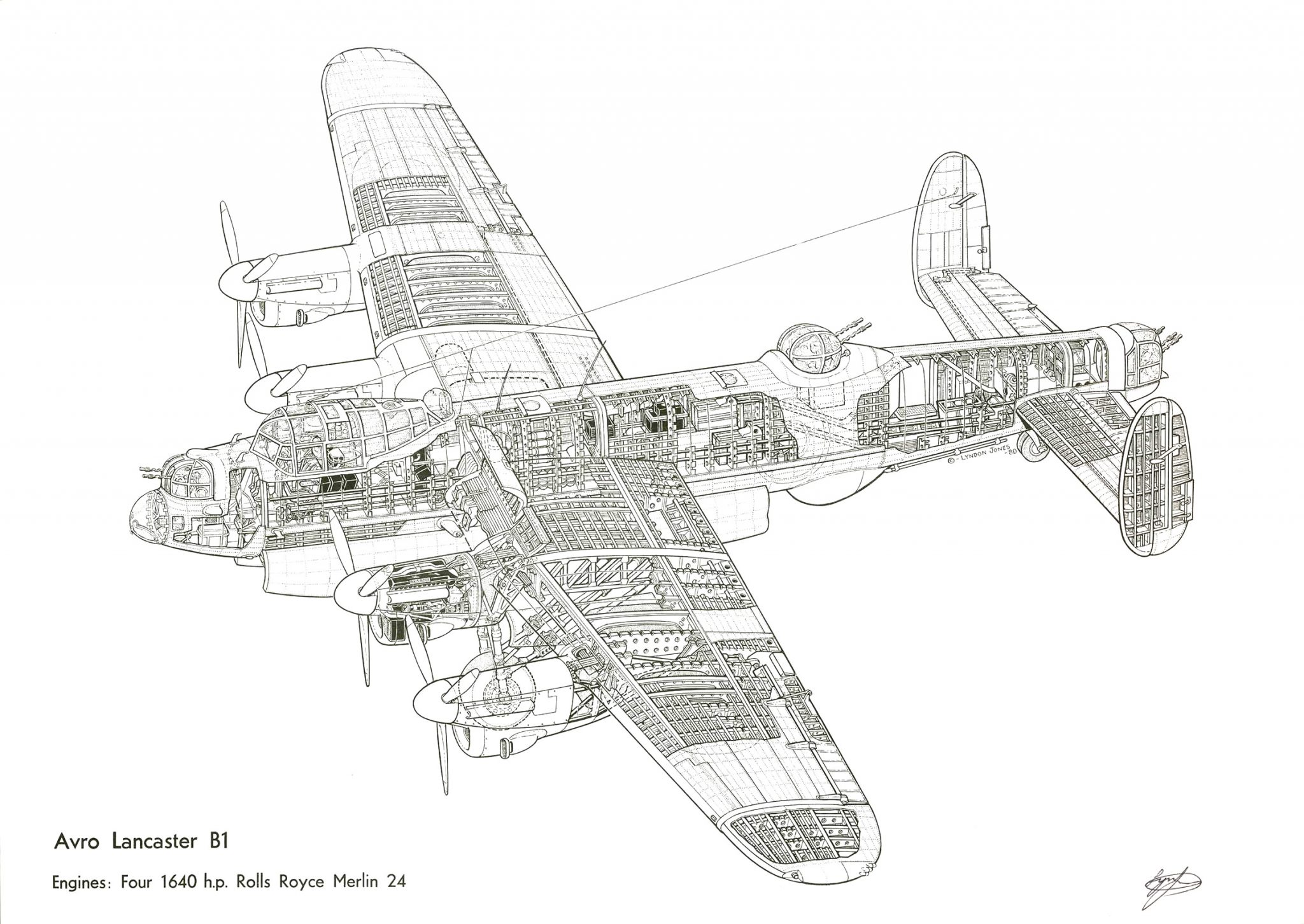 Avro Lancaster High DPI