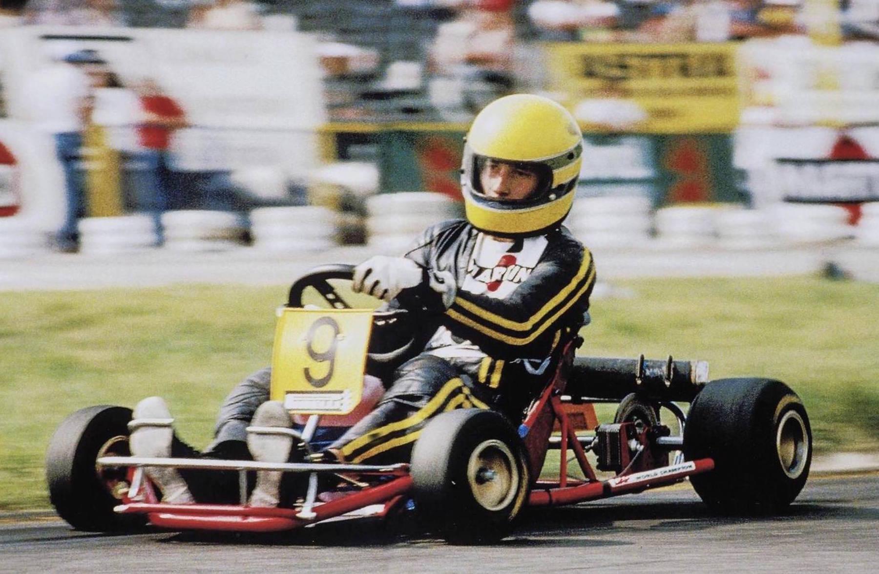 Senna\'s Last Kart