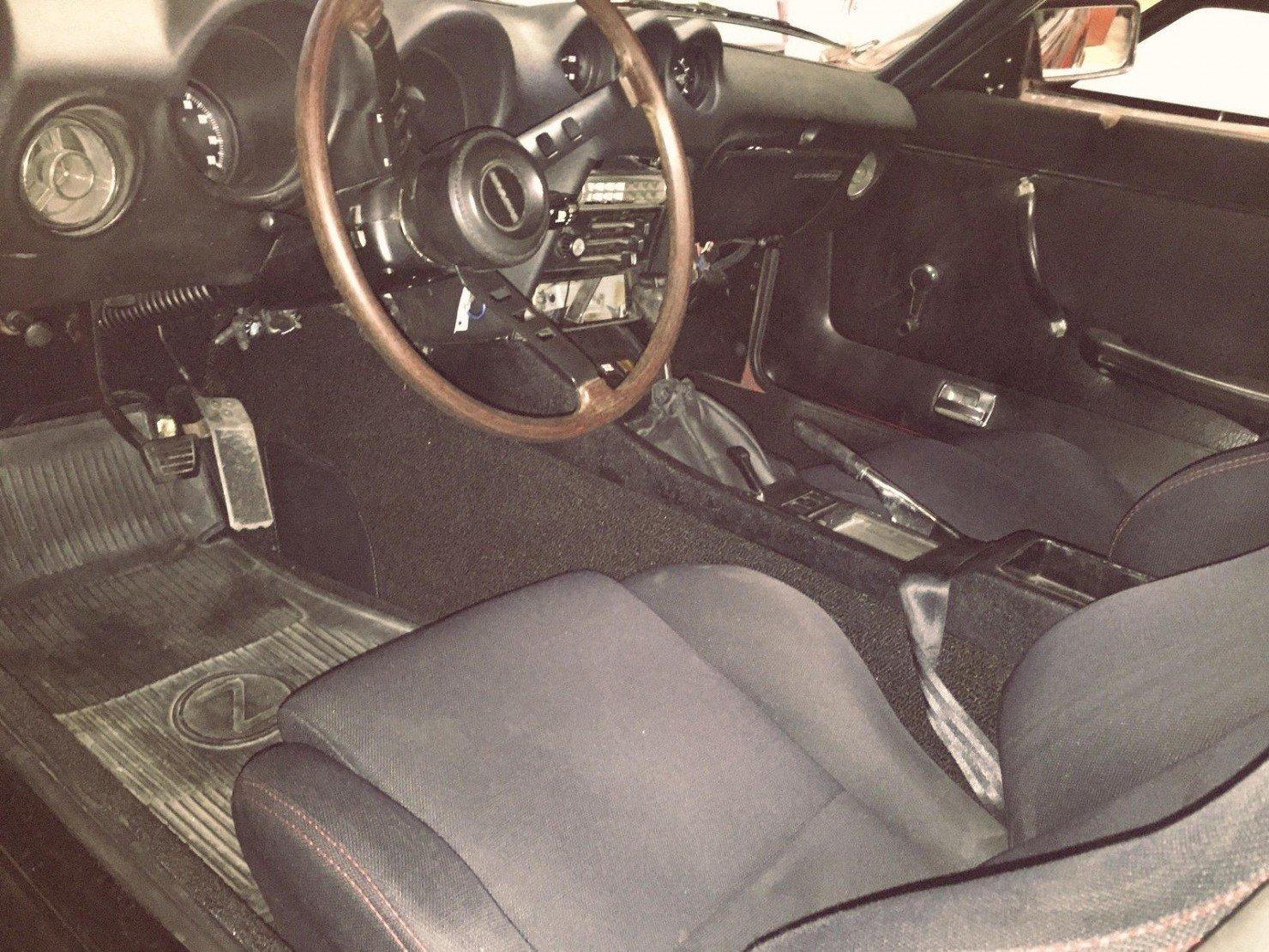 Datsun 240Z Interior