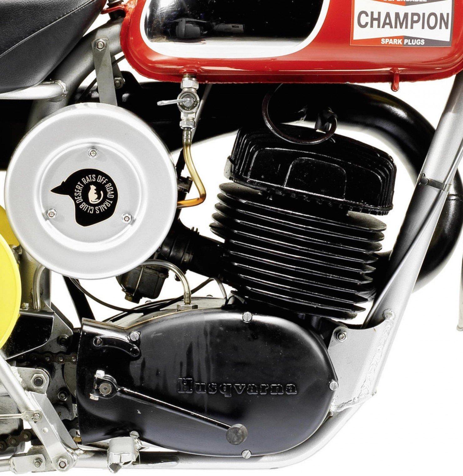 Husqvarna 400 Cross Engine