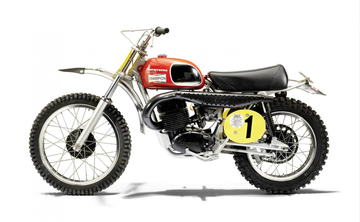 Husqvarna 400 Cross Side