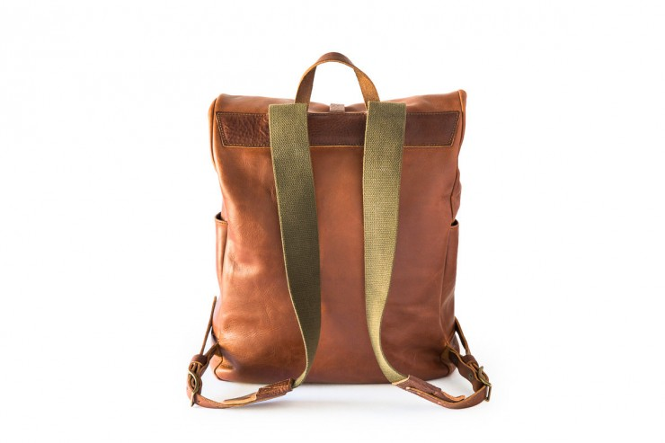 Leather Backpack 2