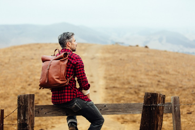 Leather Backpack 6
