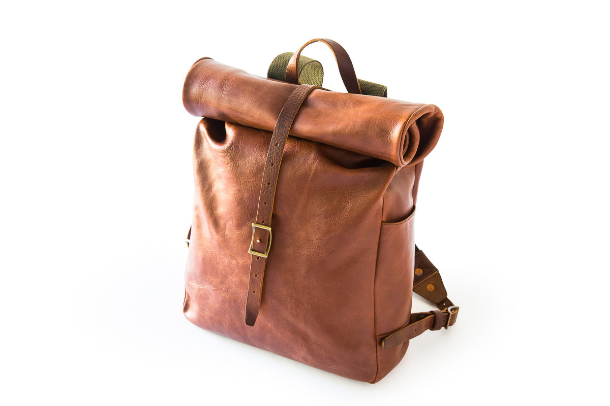 Roll Top Backpack by Whipping Post