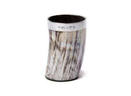 Ox Horn Glass 450x330 - Sterling & Ox Horn Tumbler