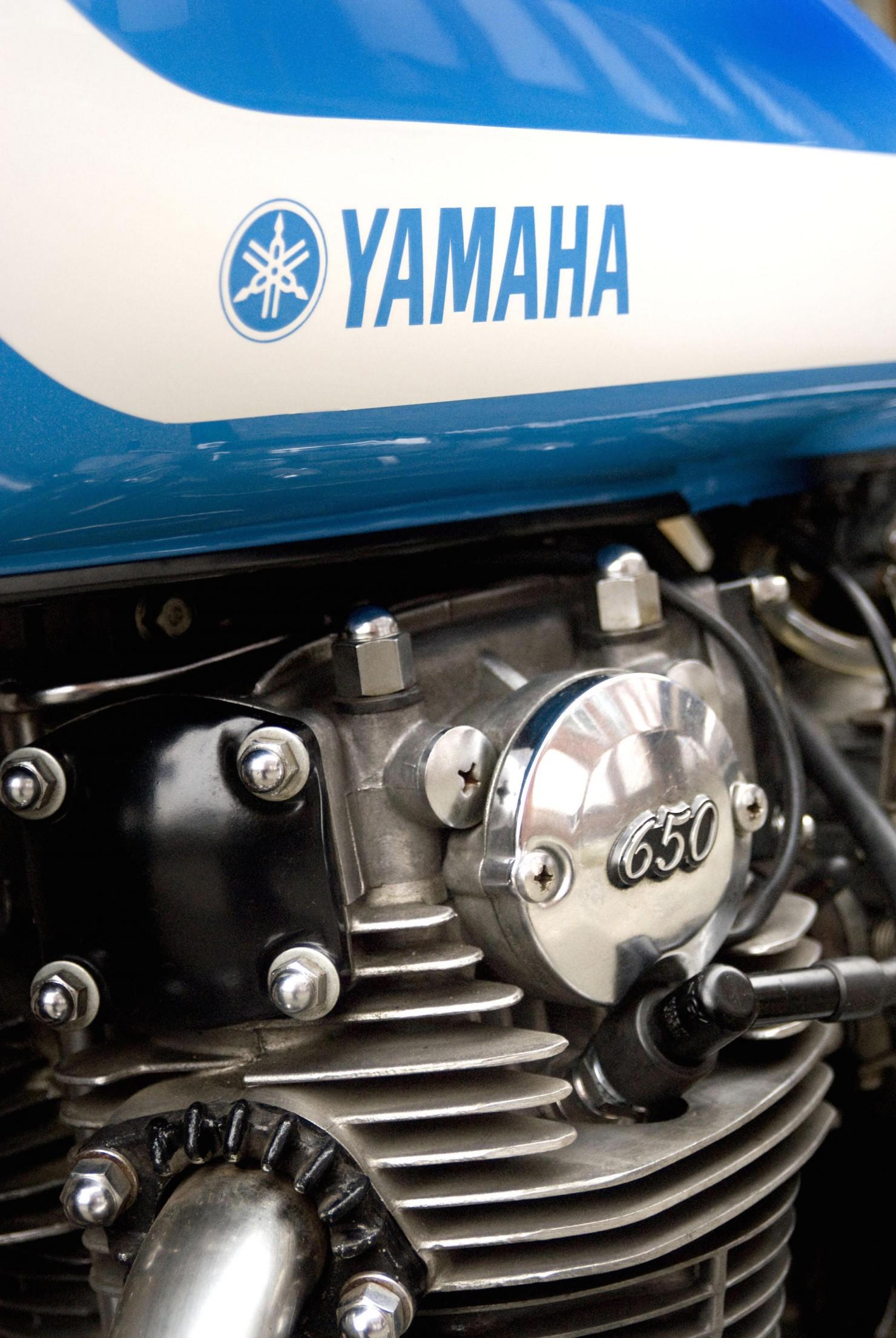 Yamaha XS650 7