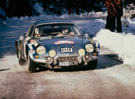 Alpine A110 450x330 - The First WRC Event: 1973 Monte Carlo Rally