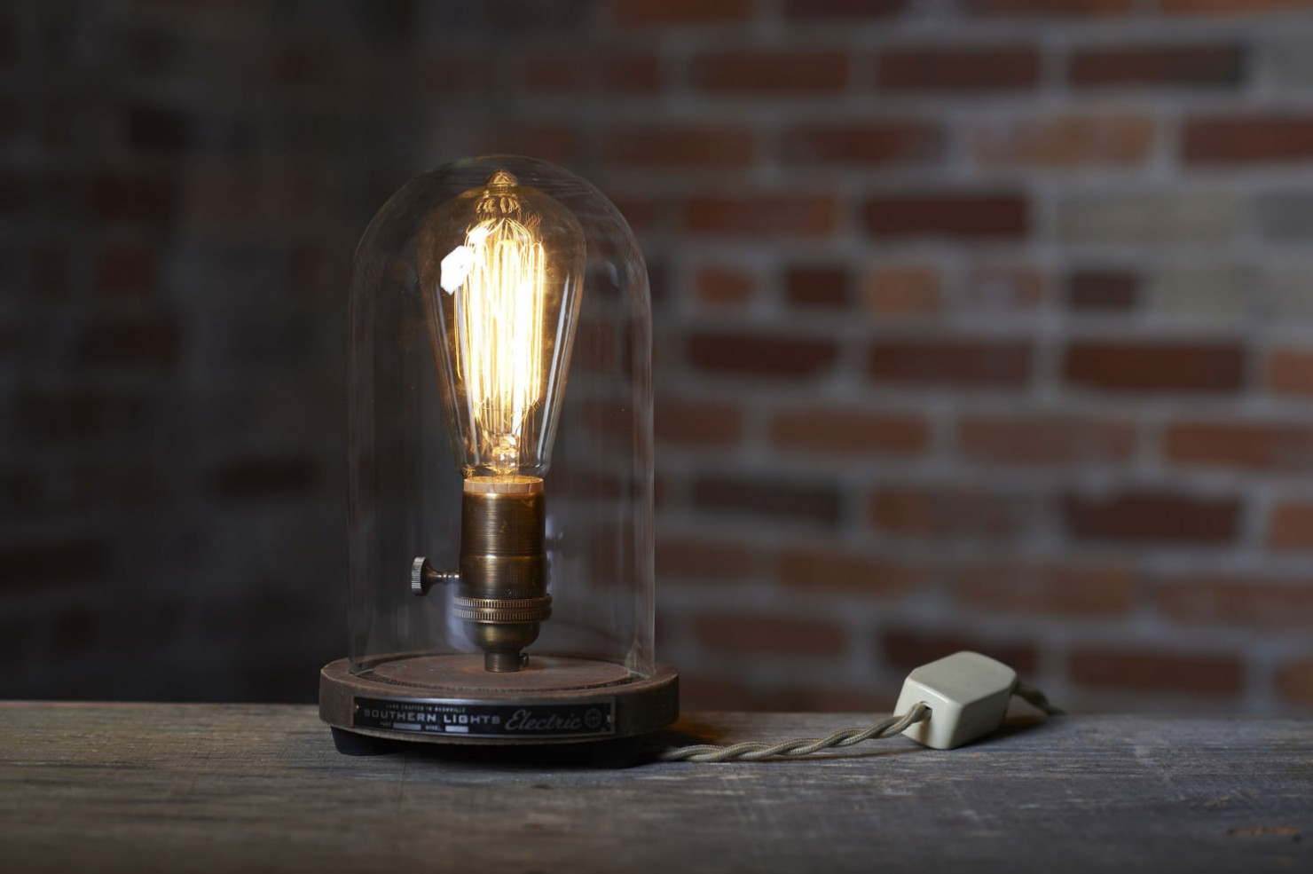 Bell Jar Table Lamp 1