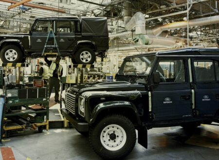 Land Rover Factory 12 450x330 - A Last Look At The Land Rover Defender Production Line