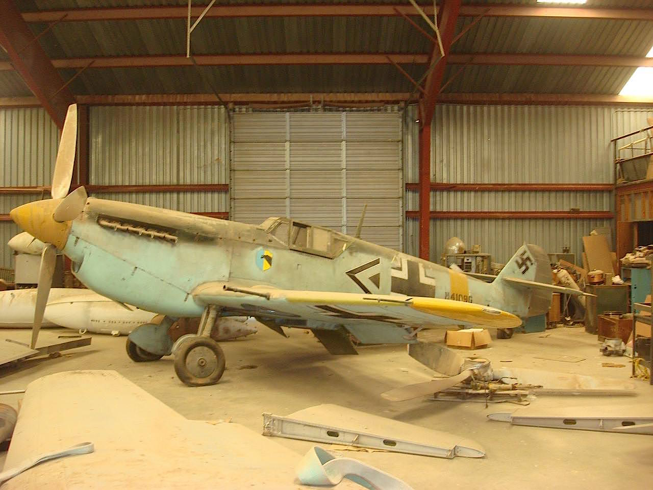 Barn Find: Messerschmitt BF 109
