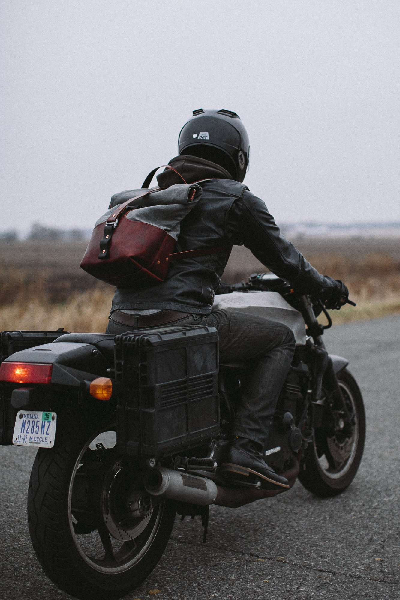 Motorcycle Backpack 4