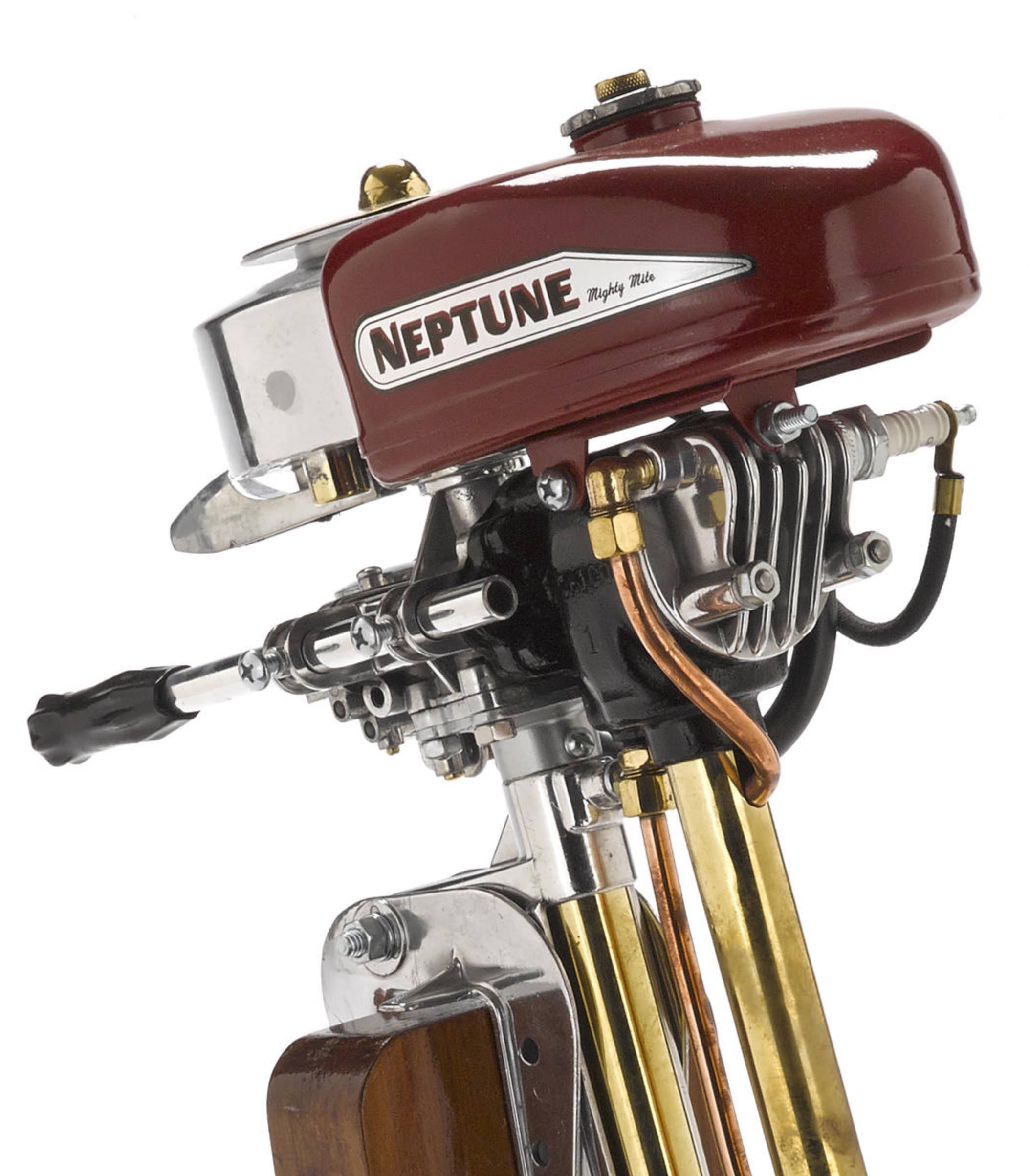 Vintage neptune outboard motor for Vintage johnson outboard motor parts