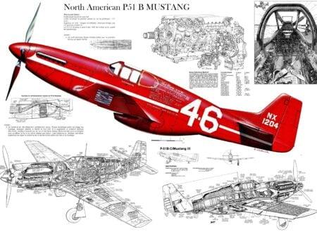 P 51 Mustang 450x330