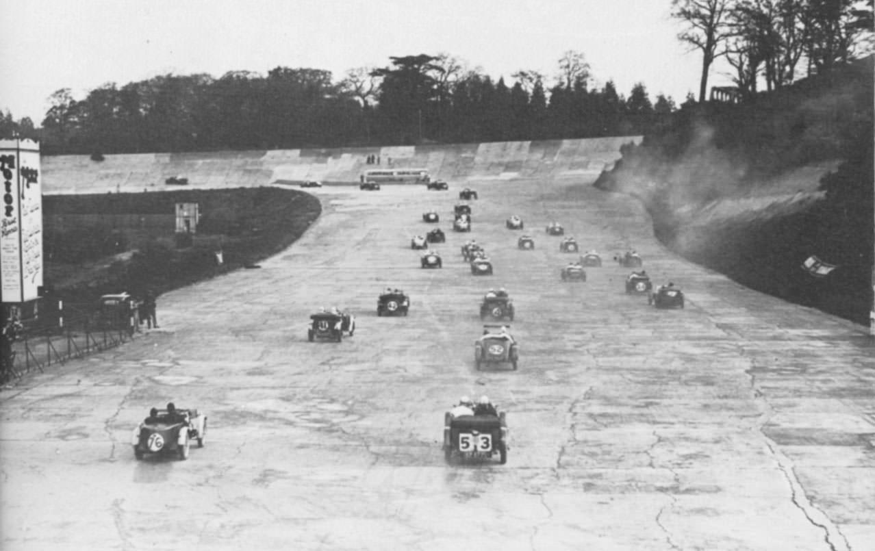 Race At Brooklands