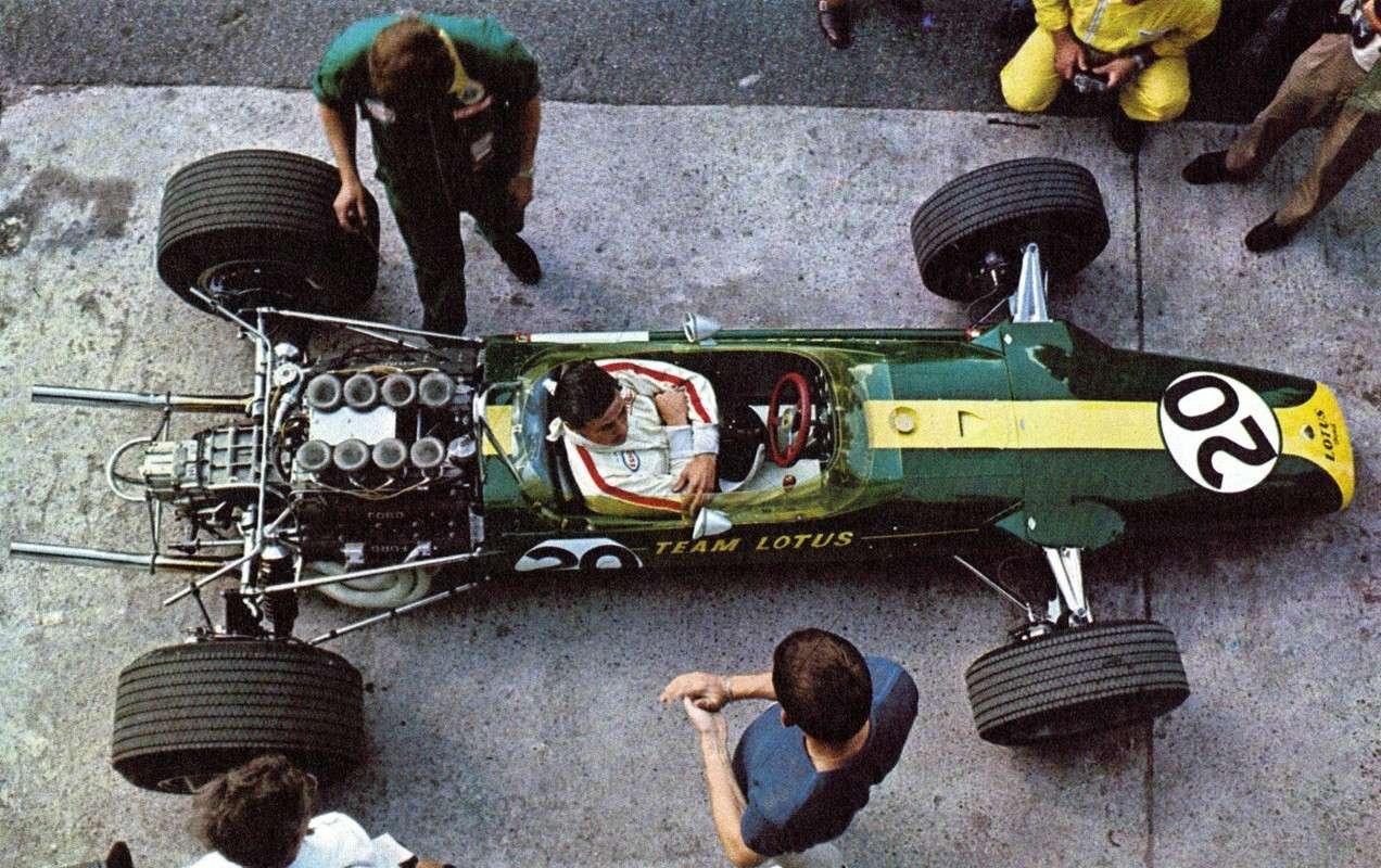 Vintage Formula 1 Car