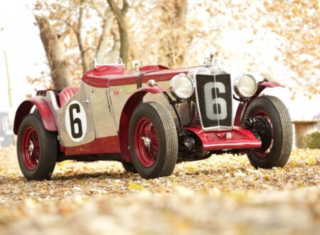 Vintage MG Racing Car 1 450x330 - Supercharged MG ND Magnette Racer