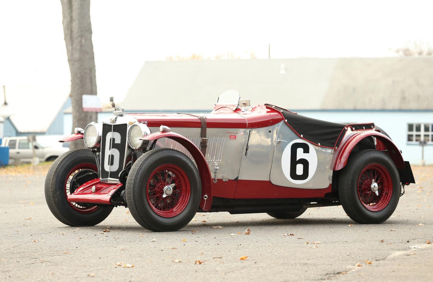 Supercharged MG ND Magnette Racer
