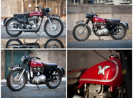 Vintage Matchless Motorcycle
