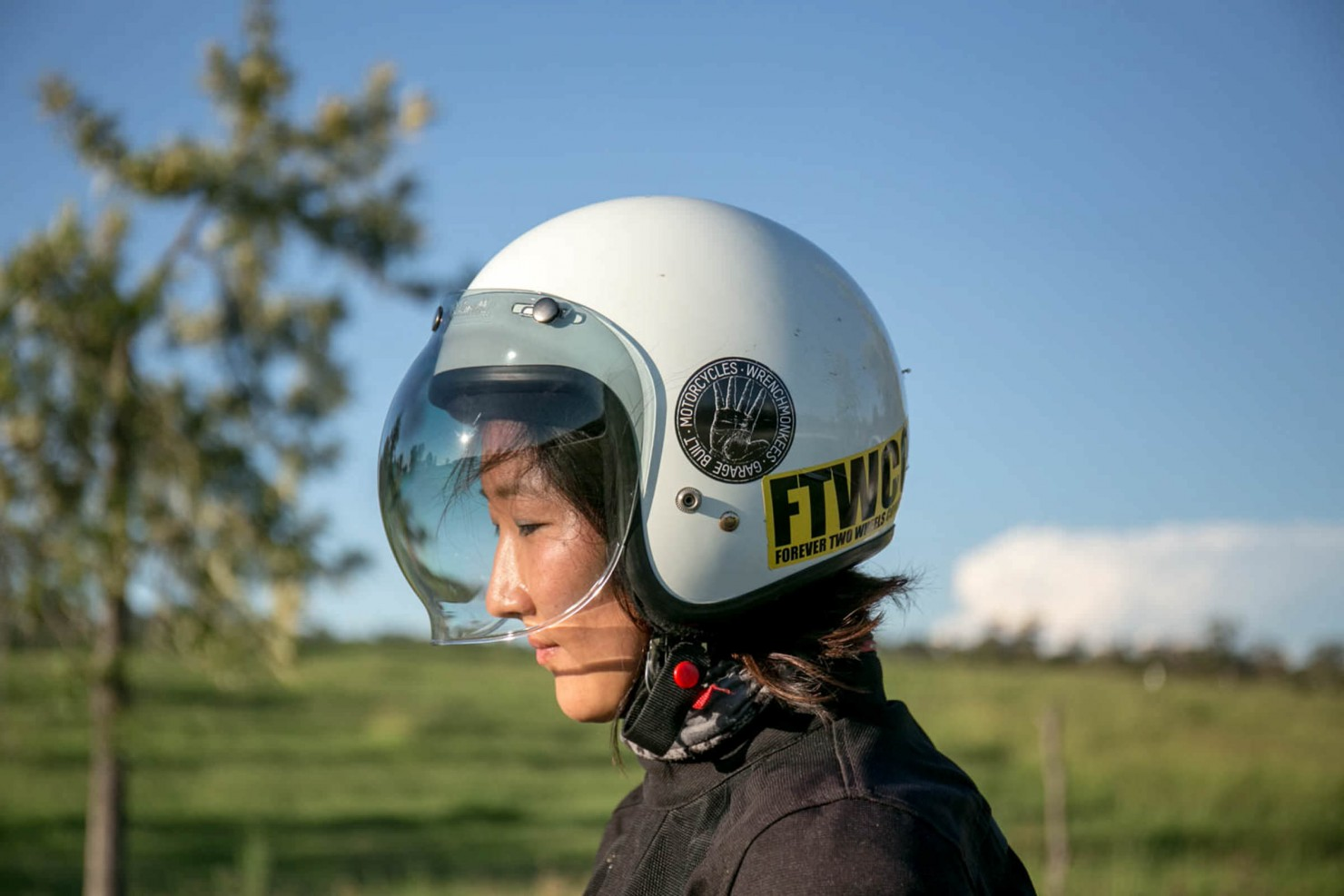 Woman Helmet